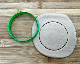 Circle Cookie Cutter/ Multi-Size/Dishwasher Safe Available