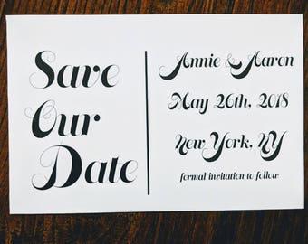 Fun Save the Date