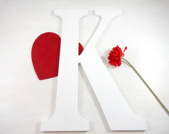 Painted Wood Letters Large Wedding Letters