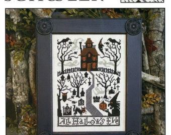 All Hallows Eve by Prairie Schooler Counted Cross Stitch Pattern/Chart