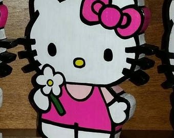 Hello Kitty Standing 6 1/2 in tall Decor, Party Decor, Room Decor