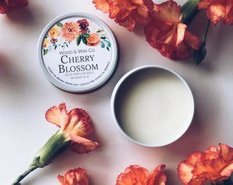 CHERRY BLOSSOM Solid Perfume | Natural Perfume Balm
