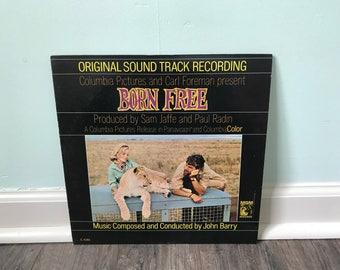 Born Free Original soundtrack vinyl record