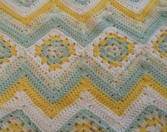 Beautiful baby blanket, chevron, baby boy blanket, baby girl blanket