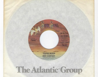 Bad Company - Young Blood / Do Right By Your Woman - 45rpm - 1976