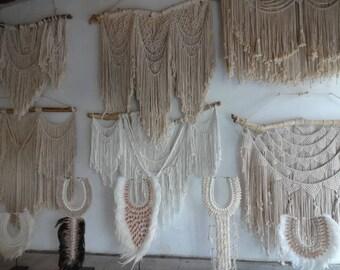 Crochet foo foo Shell Necklace with Bulu Bulu Boho Luxe Women Fashion Home Decor Interior Art