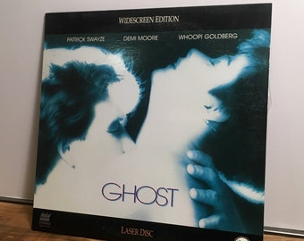 1991 Ghost LASER DISC Digital Sound-Stereo Widescreen Edition Demi Moore Patrick Swayze