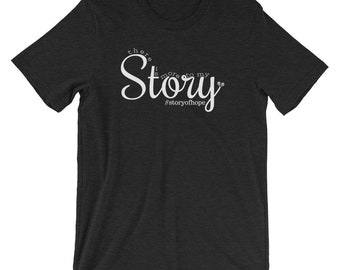 There is more to my story t-shirt / stillbirth / miscarriage / grief / loss / hope / overcome / grace / testimony / more colors available