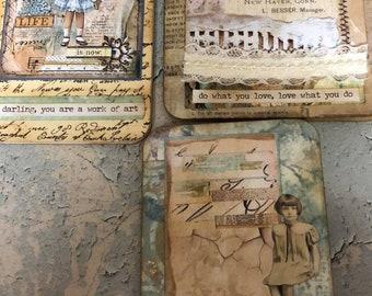 Set of 3 Altered Booklets