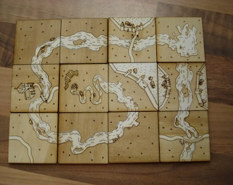 Carcassonne Tile Set Plans