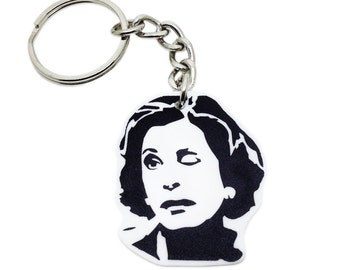 Lucille Bluth Keychain - The Bluth Company - Wink - Mother - Lucille - Alcohol - Funny - Lucille Bluth - College Gift - Gift for a Student