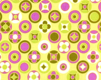 36150 -  1/2 yard of  - Erin McMorris Wildwood -  Buttons in Gold color
