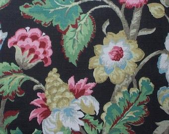 Decorative Pillow Elizabeth Floral Walnut