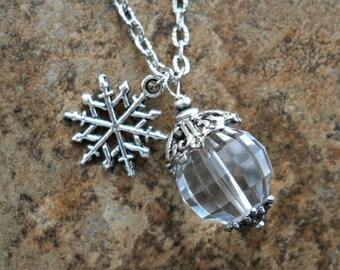 Elsa Frozen Swarovski Necklace, Ice Princess Necklace
