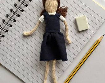 Back to school doll