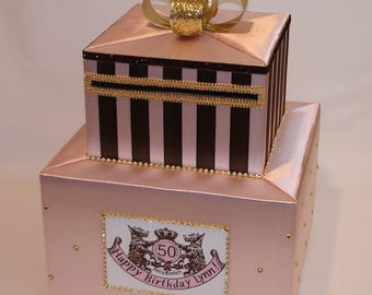 Juicy Couture themed Card Box