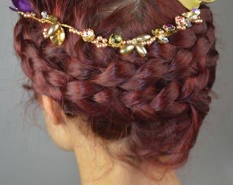 Kappe des Haares Hochzeit Lysa / Hochzeit Kopfschmuck