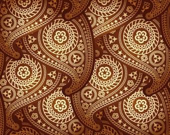 Paisley Pattern II - Cross stitch pattern pdf format