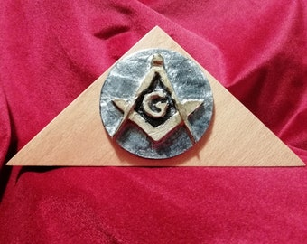 Masonic Art-Esoteric symbol Masonic-Team and Compass