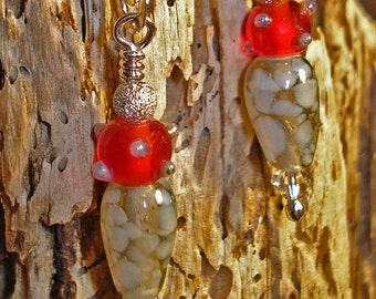Fire 'N Ice earrings