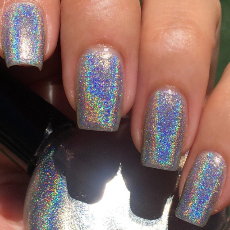 POP Polish Indie Nailpolish Nail Holo Mega Holographic