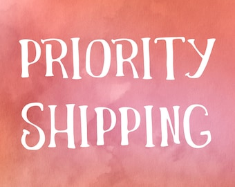PRIORITY SHIPPING - INTERNATIONAL