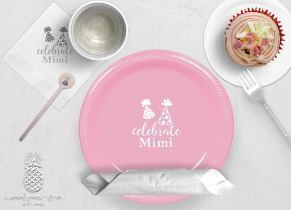 Personalized Plastic Cups | Personalized Plastic Plates | Monogram Napkins | Personalized Stir Sticks | Party Plates Napkins or Cups from ... & Personalized Plastic Cups | Personalized Plastic Plates | Monogram ...