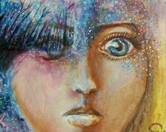 Through Seer's eyes Art Print