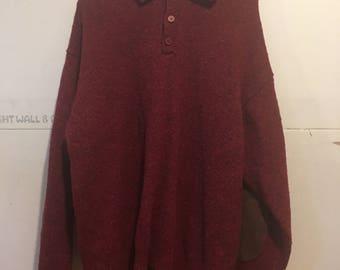 Pendleton button sweater
