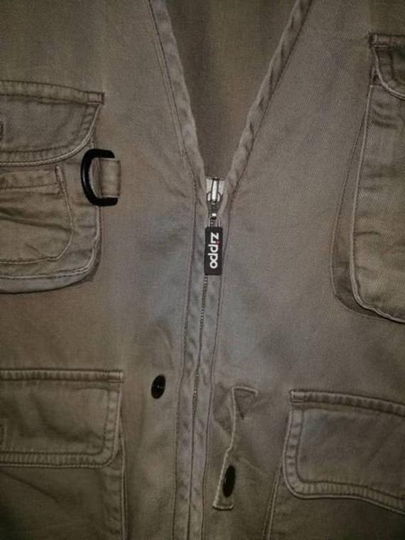 Pockets Zippo Vintage Parachute Multi Size Tactical Large Vest Utility TIXTr