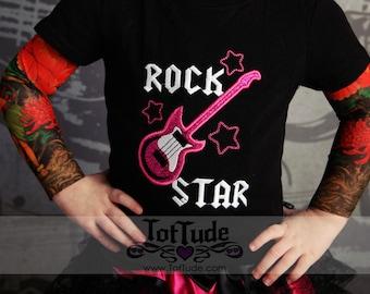 Rock Star Girls Tattoo Sleeve Shirt