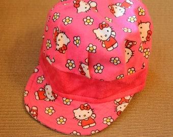 Hello Kitty Newsboy Cap
