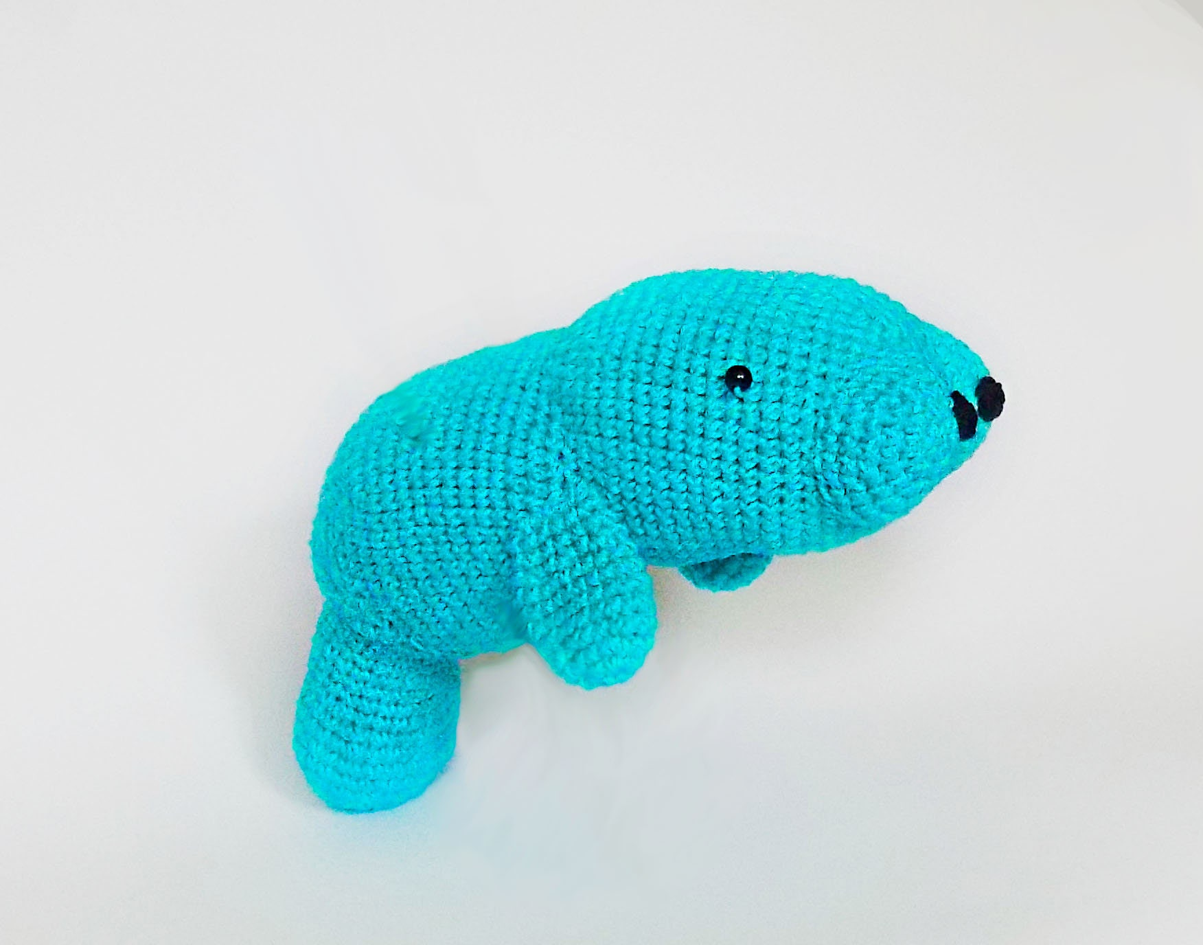 Colorful Manatee Crochet Pattern Sketch - Sewing Pattern for Wedding ...