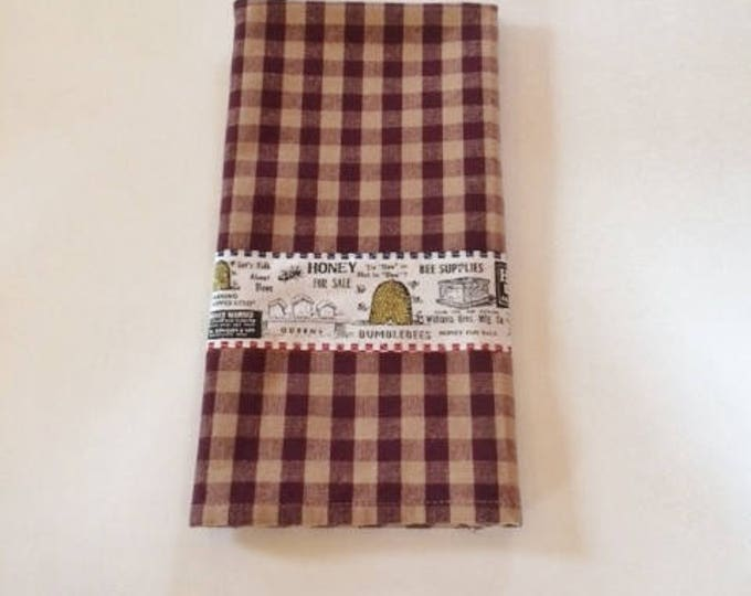 Country Kitchen Kitchen Towel, Farmhouse Kitchen Decor Kitchen Towels, Housewarming Gift Dish Towel,