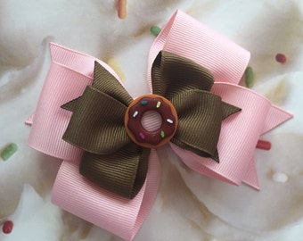 Donut bow! (Free Shipping in US)