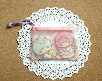 Little twin stars money bag,coin bag, zipper pouch sanrio,