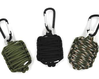 Paracord Survival Kits / Emergency Kits / Survival Kits / Military Kits - 3 Colours - UK Based - ON OFFER !