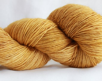 HAY STACK- Tonal dyed super wash merino single ply 100 grams (400yds) free shipping