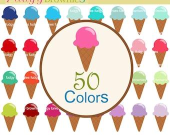 ON SALE, Ice Cream clip art, sweets clip art, ice cream cone, summer ice cream clip art, invites, cards, scrapbooking ,INSTANT