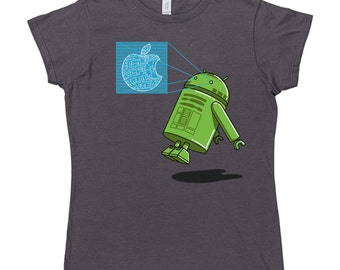 Womens Android R2 T Shirt