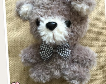 Crochet Scruffy ted and friends Albert