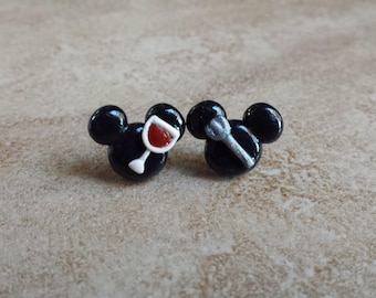 Food and Wine Mickey Mouse Inspired Earrings