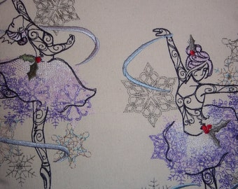 Sugar Plum Fairy Ballet Pillow