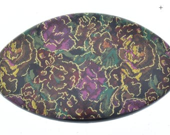 Barrett cover tapestry printed , 3.75 oval, sold 3 each G905