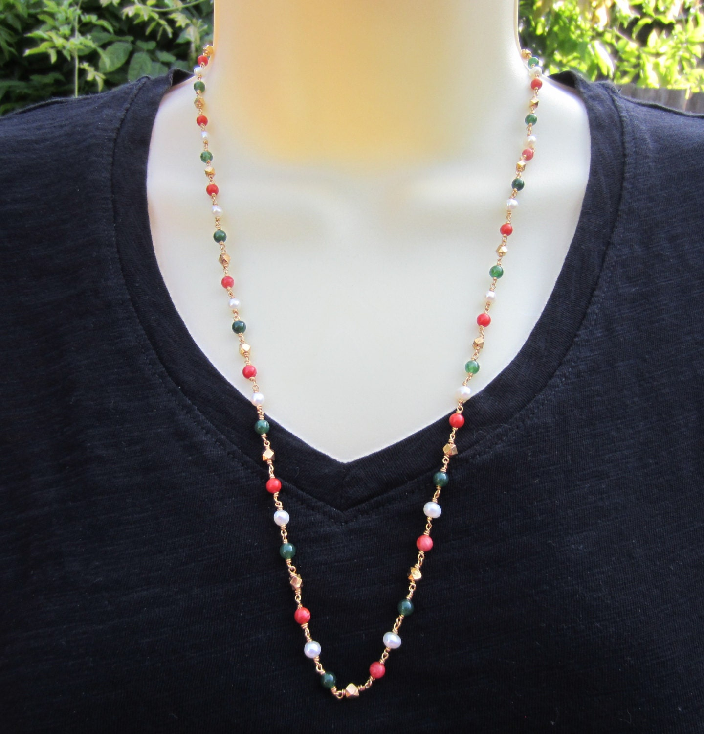 necklace bead jethro product and clasp green jade marles