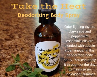Take the Heat Deodorizing Body Spray