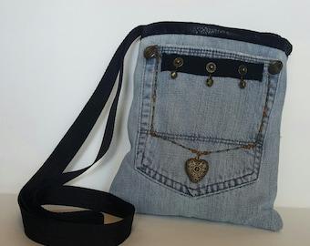 little denim bag/purse