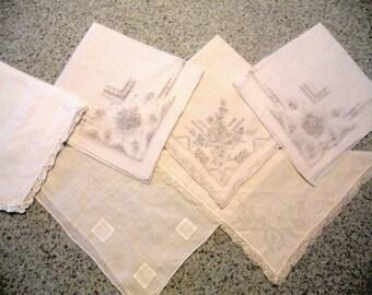 Vintage assortment of Handkerchiefs