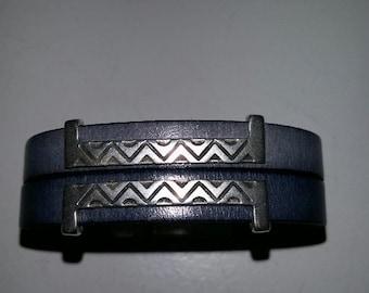 Aztek gray bracelet