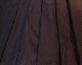Black Pure Silk Taffeta 4.50 meters